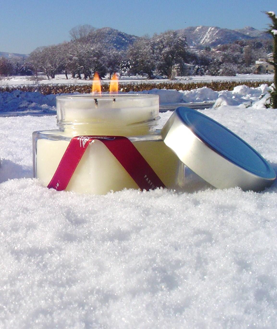 Bougies neige 5