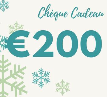 Cheque cadeau 200
