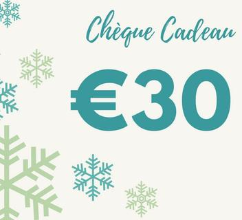 Chèque Cadeau 30€ Nicolosi Creations