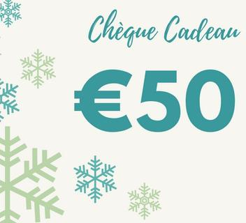 Chèque Cadeau 50€ Nicolosi Creations