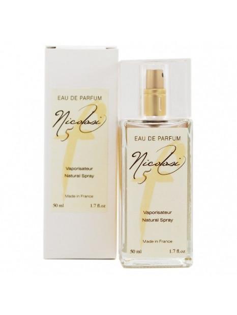 Eau de parfum femme nicolosi parfum f5 50 ml nicolosi creations