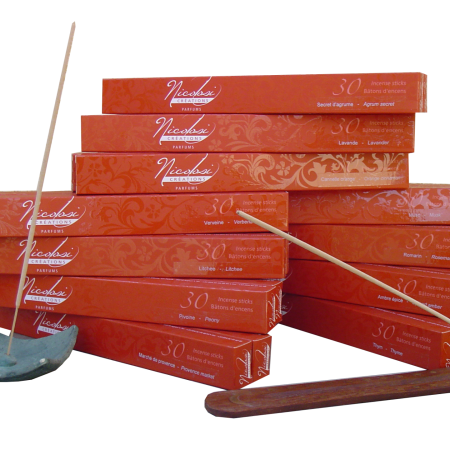 Spicy Amber Perfumed Incense