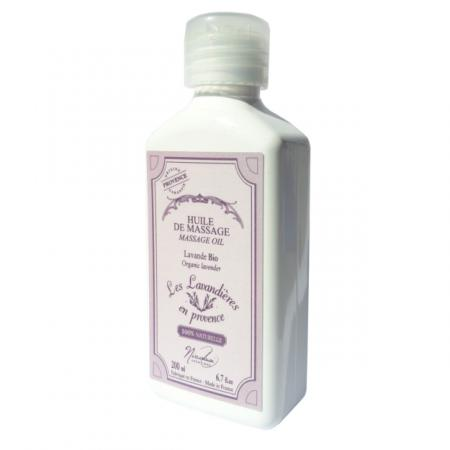Massage Oil Organic Lavender