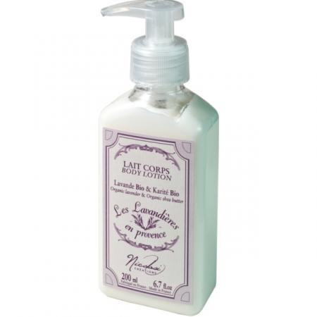 Body Lotion Organic Lavender