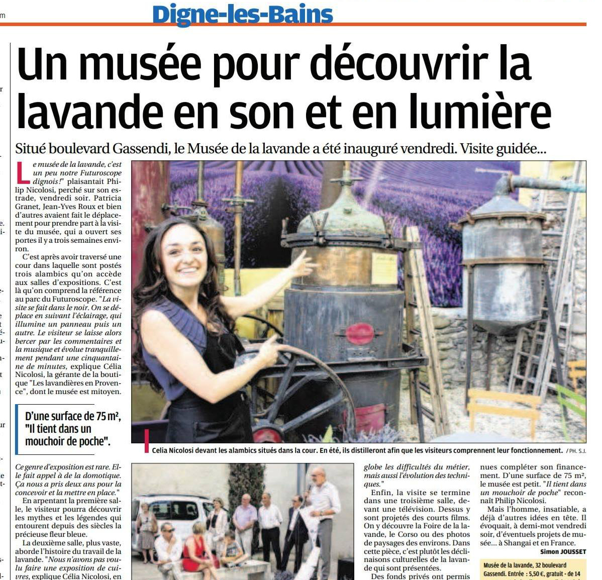 Laprovence musee nicolosi creations
