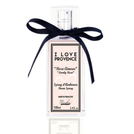 "Spray d'Ambiance Rose Amour ""I LOVE PROVENCE"""