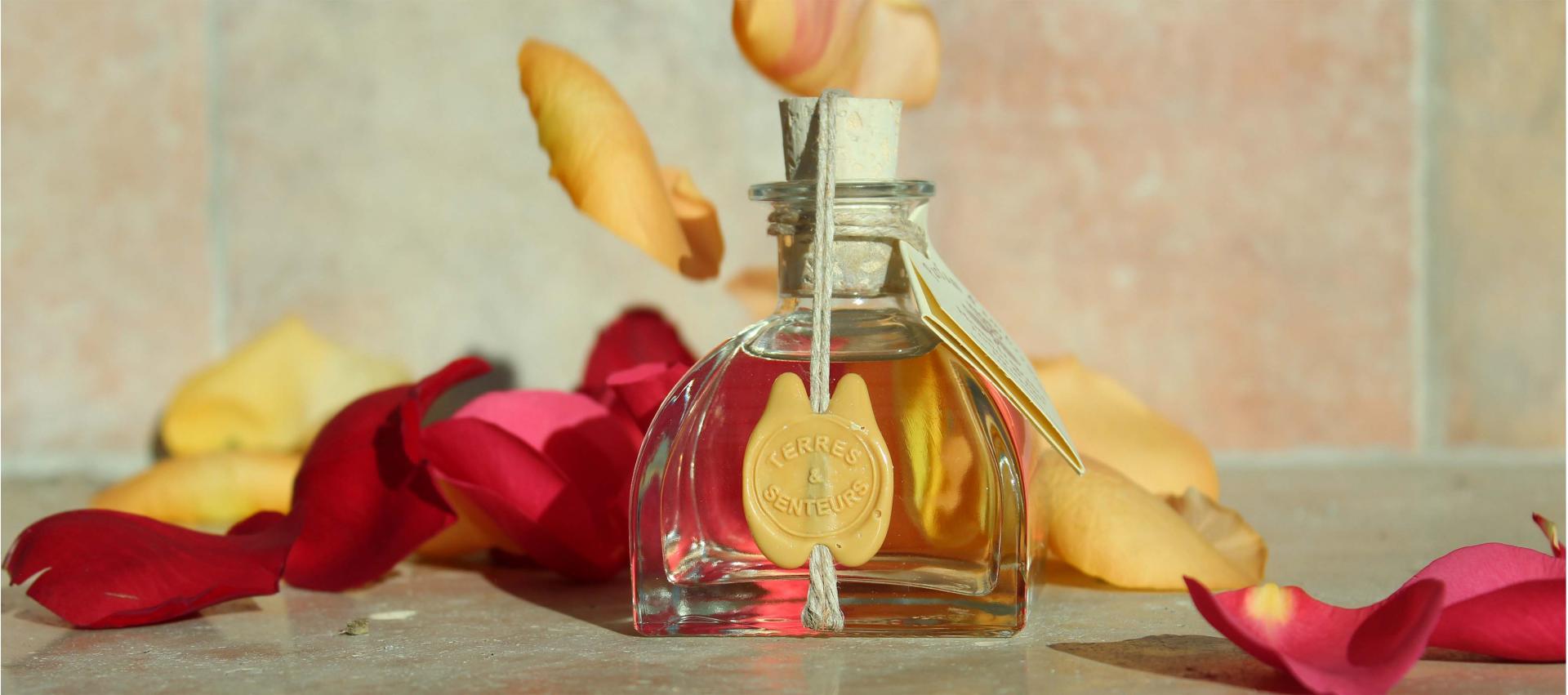 Parfum d'ambiance Nicolosi Créations senteur Rose