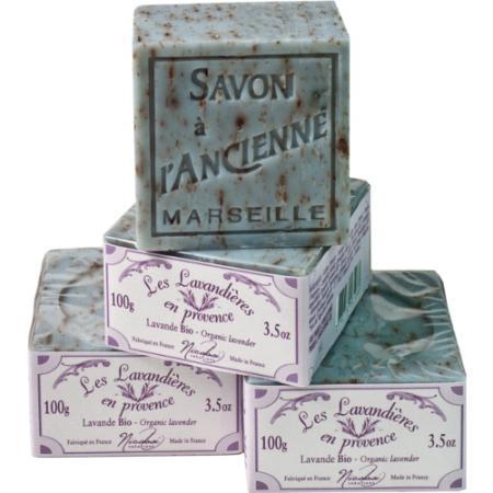 Organic Lavender Soap Cube