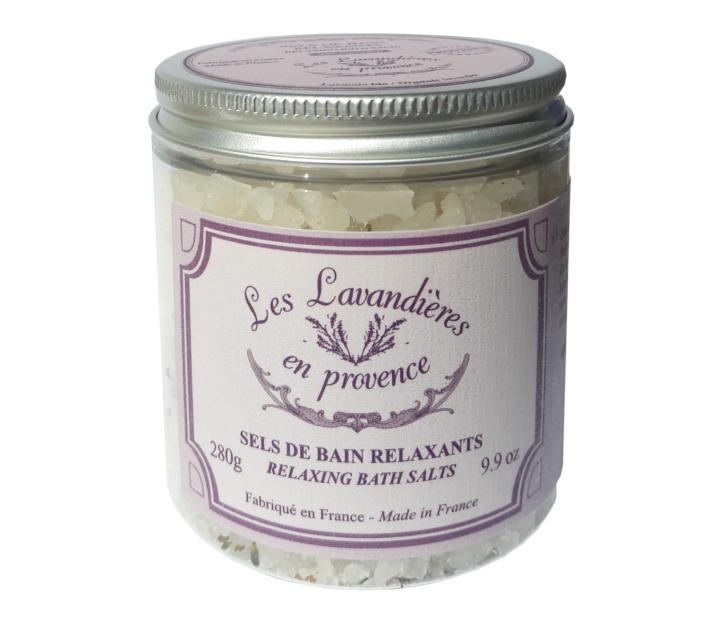 """Sels de bain (lavande bio) """"Lavandières en Provence"""" by Nicolosi Creations"""